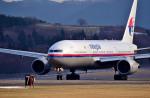 Dojalanaさんが、函館空港で撮影したマレーシア航空 777-2H6/ERの航空フォト(飛行機 写真・画像)