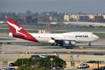 Cimarronさんが、ロサンゼルス国際空港で撮影したカンタス航空 747-438の航空フォト(写真)