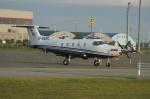 北の熊さんが、新千歳空港で撮影したプライベート・ジェット・エクスペディション PC-12の航空フォト(写真)