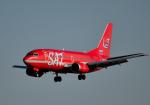 todotaさんが、成田国際空港で撮影したオーロラ 737-2J8/Advの航空フォト(写真)