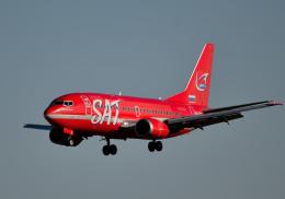 todotaさんが、成田国際空港で撮影したオーロラ 737-2J8/Advの航空フォト(飛行機 写真・画像)
