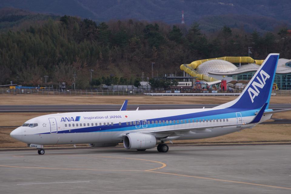 神宮寺ももさんの全日空 Boeing 737-800 (JA56AN) 航空フォト