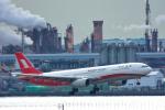 パンダさんが、羽田空港で撮影した上海航空 A330-343Xの航空フォト(飛行機 写真・画像)