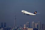 ざきざきさんが、羽田空港で撮影したルフトハンザドイツ航空 747-830の航空フォト(写真)