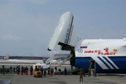 北の熊さんが、新千歳空港で撮影したポレット・エアラインズ An-124-100 Ruslanの航空フォト(飛行機 写真・画像)