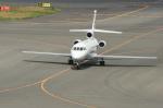 北の熊さんが、新千歳空港で撮影したCFS Air LLC Falcon 900の航空フォト(写真)