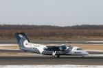 ATOMさんが、新千歳空港で撮影したオーロラ DHC-8-200Q Dash 8の航空フォト(写真)