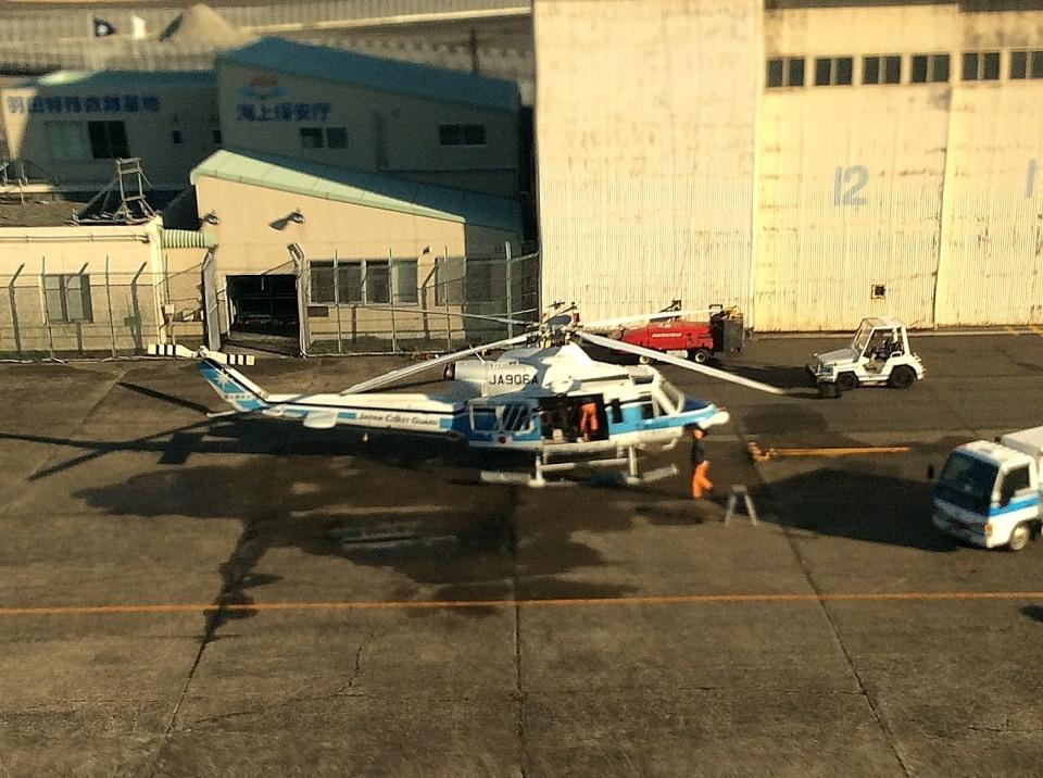 tsubasa0624さんの海上保安庁 Bell 412 (JA906A) 航空フォト