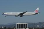 matsuさんが、ロサンゼルス国際空港で撮影したチャイナエアライン 777-36N/ERの航空フォト(写真)