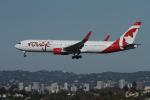 matsuさんが、ロサンゼルス国際空港で撮影したエア・カナダ・ルージュ 767-33A/ERの航空フォト(写真)