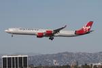 matsuさんが、ロサンゼルス国際空港で撮影したヴァージン・アトランティック航空 A340-642の航空フォト(写真)