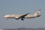 matsuさんが、ロサンゼルス国際空港で撮影したエティハド航空 777-237/LRの航空フォト(飛行機 写真・画像)
