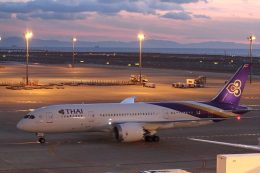さんたまるたさんが、中部国際空港で撮影したタイ国際航空 787-8 Dreamlinerの航空フォト(飛行機 写真・画像)