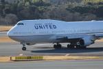 ANA744Foreverさんが、成田国際空港で撮影したユナイテッド航空 747-422の航空フォト(飛行機 写真・画像)