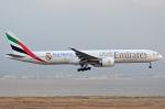 関西国際空港 - Kansai International Airport [KIX/RJBB]で撮影されたエミレーツ航空 - Emirates [EK/UAE]の航空機写真