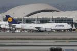 matsuさんが、ロサンゼルス国際空港で撮影したルフトハンザドイツ航空 747-830の航空フォト(写真)