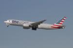 matsuさんが、ロサンゼルス国際空港で撮影したアメリカン航空 777-223/ERの航空フォト(飛行機 写真・画像)