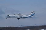 北の熊さんが、新千歳空港で撮影した海上保安庁 DHC-8-315 Dash 8の航空フォト(飛行機 写真・画像)