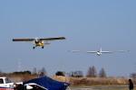 tsubasa0624さんが、大利根飛行場で撮影した日本個人所有 SZD-50-3 Puchaczの航空フォト(飛行機 写真・画像)