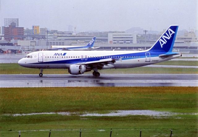 amagoさんが、伊丹空港で撮影した全日空 A320-211の航空フォト(飛行機 写真・画像)