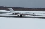 北の熊さんが、新千歳空港で撮影したUnited Asia Business Air G-IV-X Gulfstream G450の航空フォト(写真)