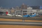 ハピネスさんが、伊丹空港で撮影した天草エアライン DHC-8-103Q Dash 8の航空フォト(飛行機 写真・画像)