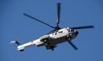 青い翼に鎧武者マークの!さんが、市ヶ谷地区で撮影した陸上自衛隊 EC225LP Super Puma Mk2+の航空フォト(写真)