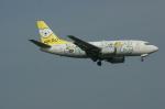 北の熊さんが、新千歳空港で撮影したAIR DO 737-54Kの航空フォト(飛行機 写真・画像)