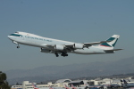 matsuさんが、ロサンゼルス国際空港で撮影したキャセイパシフィック航空 747-867F/SCDの航空フォト(写真)