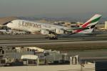 matsuさんが、ロサンゼルス国際空港で撮影したエミレーツ航空 A380-861の航空フォト(写真)
