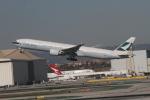 matsuさんが、ロサンゼルス国際空港で撮影したキャセイパシフィック航空 777-367/ERの航空フォト(写真)