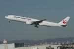 matsuさんが、ロサンゼルス国際空港で撮影した日本航空 777-346/ERの航空フォト(飛行機 写真・画像)