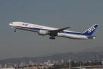 matsuさんが、ロサンゼルス国際空港で撮影した全日空 777-381/ERの航空フォト(写真)