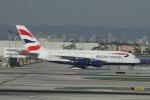 matsuさんが、ロサンゼルス国際空港で撮影したブリティッシュ・エアウェイズ A380-841の航空フォト(写真)