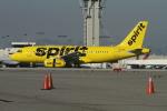 matsuさんが、ロサンゼルス国際空港で撮影したスピリット航空 A319-132の航空フォト(写真)