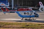 tsubasa0624さんが、東京ヘリポートで撮影した川崎市消防航空隊 BK117B-2の航空フォト(写真)
