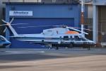 tsubasa0624さんが、東京ヘリポートで撮影した朝日航洋 S-76Cの航空フォト(飛行機 写真・画像)