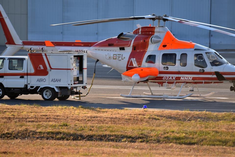 tsubasa0624さんの朝日航洋 Bell 430 (JA02AX) 航空フォト