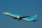 rjnsphotoclub-No.07さんが、静岡空港で撮影した大韓航空 737-9B5の航空フォト(飛行機 写真・画像)
