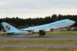 JPN Spotterさんが、成田国際空港で撮影した大韓航空 747-4B5F/SCDの航空フォト(飛行機 写真・画像)