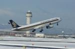 北の熊さんが、新千歳空港で撮影したシンガポール航空 A330-343Xの航空フォト(写真)