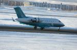 北の熊さんが、新千歳空港で撮影したロンドン・エア・サービス CL-600-2B16 Challenger 601-3Rの航空フォト(写真)