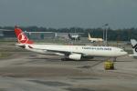matsuさんが、シンガポール・チャンギ国際空港で撮影したターキッシュ・エアラインズ A330-343Xの航空フォト(写真)