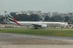 matsuさんが、シンガポール・チャンギ国際空港で撮影したエミレーツ航空 777-36N/ERの航空フォト(飛行機 写真・画像)