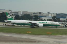 matsuさんが、シンガポール・チャンギ国際空港で撮影したエバー航空 777-35E/ERの航空フォト(写真)