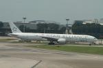 matsuさんが、シンガポール・チャンギ国際空港で撮影したシンガポール航空 777-312/ERの航空フォト(写真)