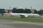matsuさんが、シンガポール・チャンギ国際空港で撮影したエミレーツ航空 777-31H/ERの航空フォト(写真)
