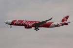 アイスコーヒーさんが、成田国際空港で撮影したエアアジア・エックス A330-343Xの航空フォト(飛行機 写真・画像)