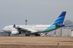 アイスコーヒーさんが、成田国際空港で撮影したガルーダ・インドネシア航空 A330-243の航空フォト(飛行機 写真・画像)