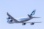 Odyssey_Aquariusさんが、成田国際空港で撮影したキャセイパシフィック航空 747-867F/SCDの航空フォト(写真)